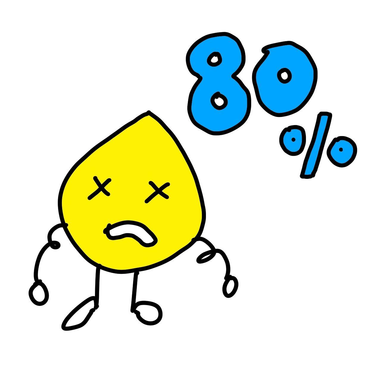 汗腺80%取り除ける