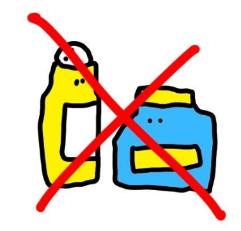 制汗剤は使わない